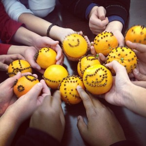 clove orange